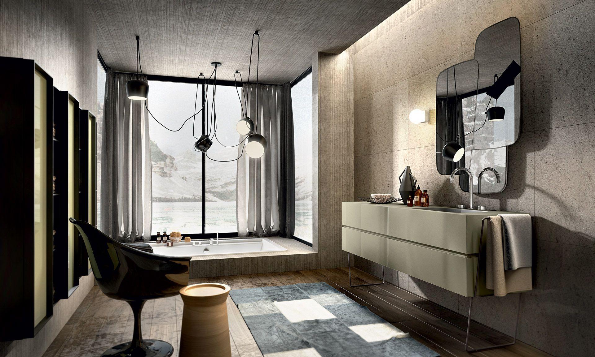 Collezione nike by edoné design mobili bagno colorati dal