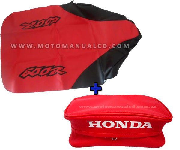 Free Shipping Honda Xr600 2000 XR600R Rear Fender Bag /& Seat Cover 2000