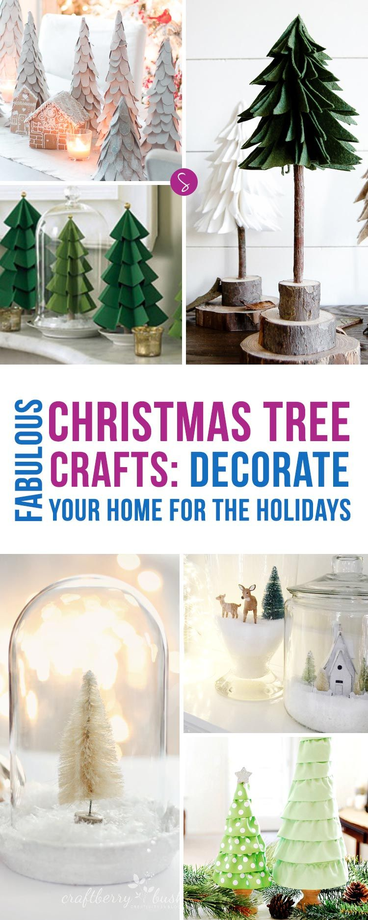 Oh My These Christmas Tree Crafts Are Stunning Can T Wait To Decorate Home For The Holidays