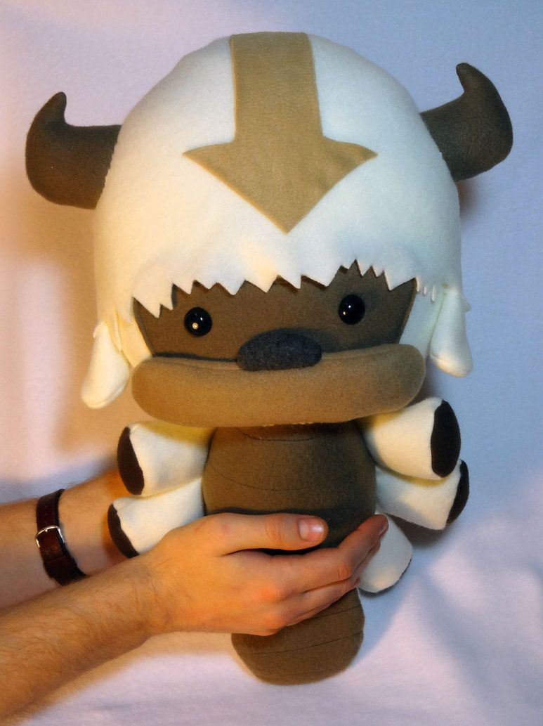 Flying Bison Plush by JanellesPlushies on deviantART  This is so cute!