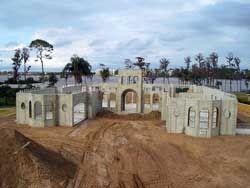 Concrete Home Construction Using Alminum Forms Concrete House Modular Homes House