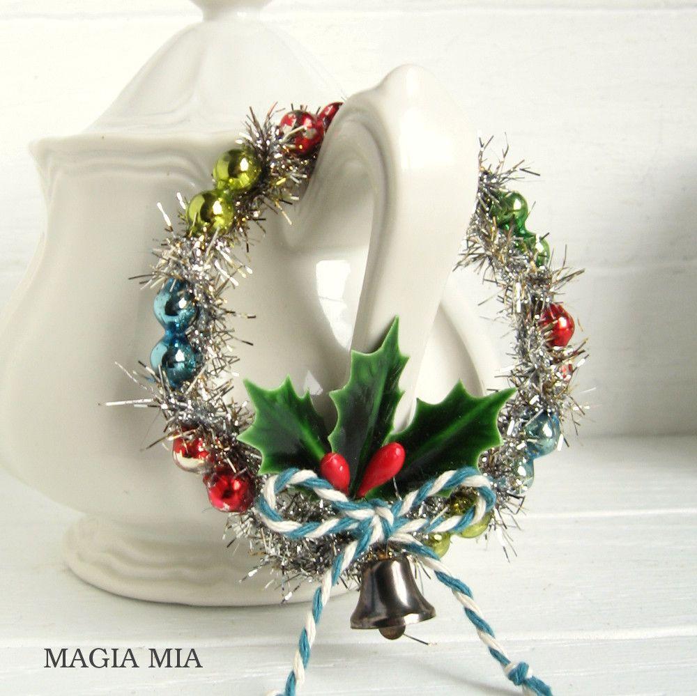 Magia Mia Nostalgic Ornaments with Mercury Glass