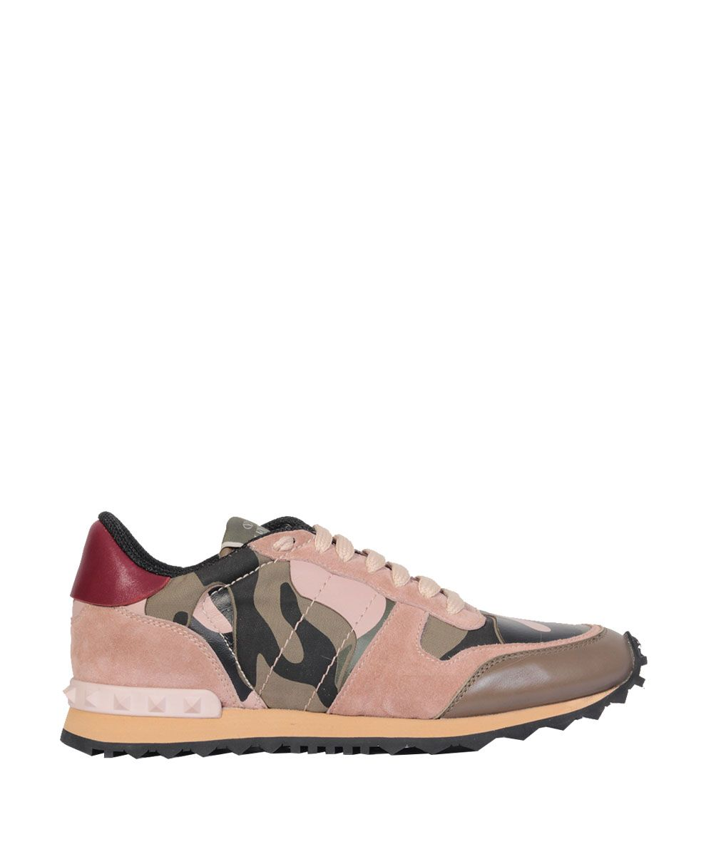 10a8b33c7a58 VALENTINO GARAVANI Sneakers camouflage Rock Runner