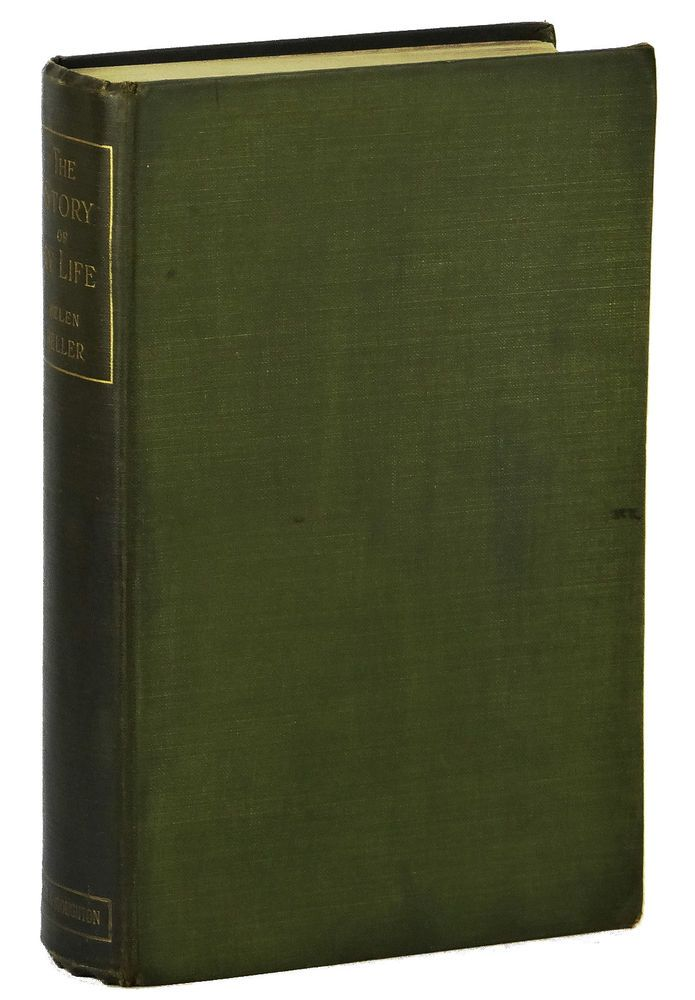 The Story Of My Life By Helen Keller Signed First Uk Edition