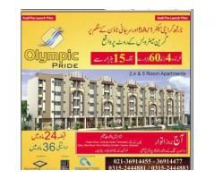 Olympic Pride Karachi Payment Plans Of Apartments Booking Detail