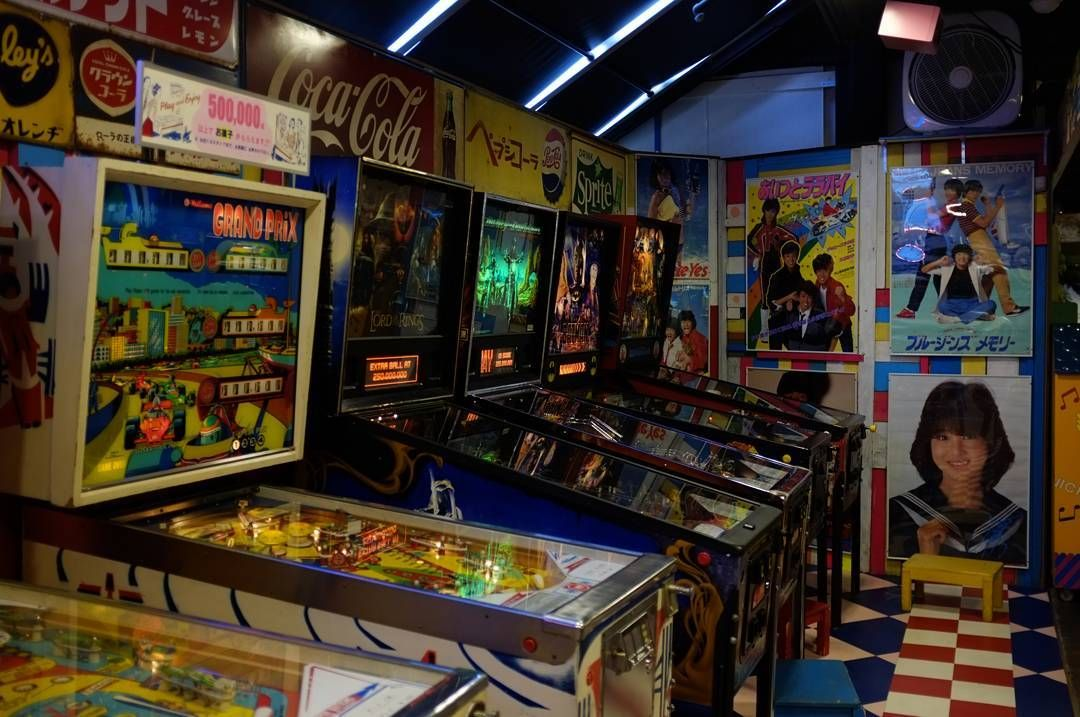 On instagram by kidneptune1987 #arcade #microhobbit (o) http://ift.tt/1MLz826 #gamecenter  #pinball #retrogaming #retro #japan