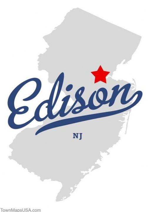 Edison Nj Map Edison, New Jersey | edison new jersey map of new jersey Edison  Edison Nj Map