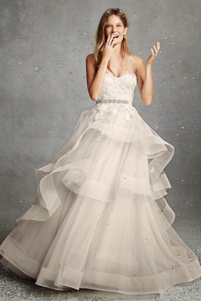 hilary blonde: vestidos de novia a precios asequibles de monique