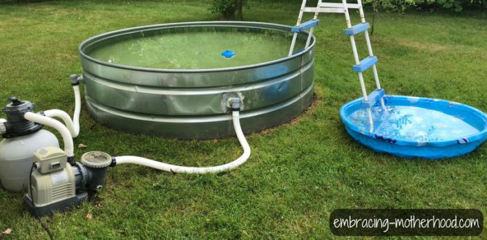 How to Make a Stock Tank Pool Stock tank pool, Stock tank