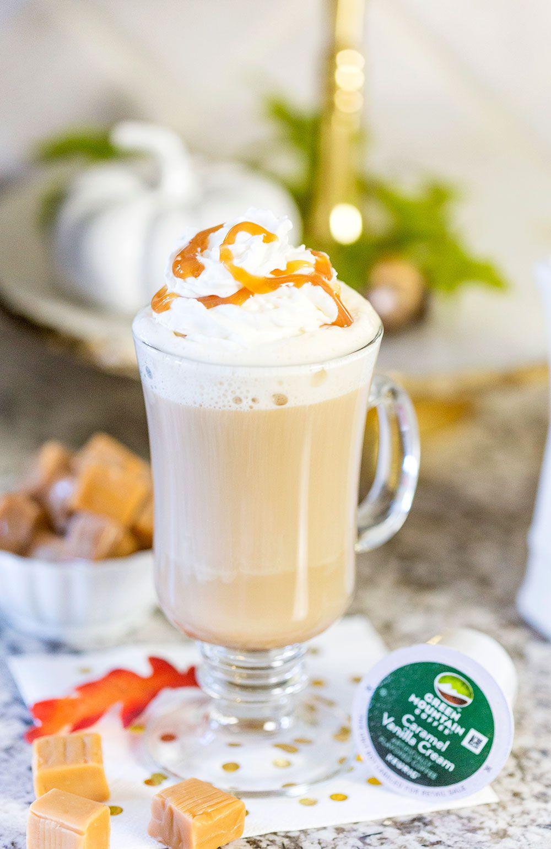 Caramel Vanilla Cream Cafe au Lait Vanilla cream, Easy