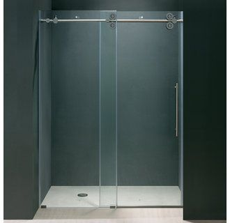 Vigo Vg60416074 Frameless Shower Doors Sliding Shower Door Shower Doors