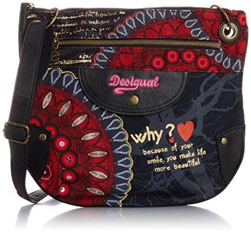 Desigual Brooklyn Bolas Rojas Cross Body Bag 430fc207516
