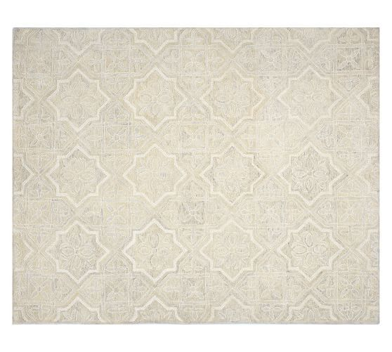 Farrah Rug 8x10 Ivory At Pottery Barn A Space