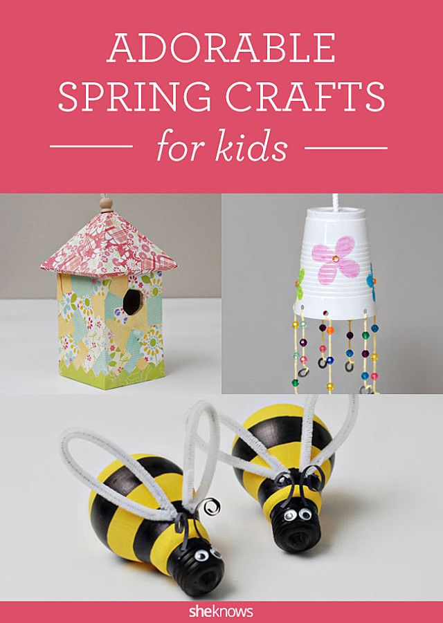 Light bulb bumblebees & other DIY delights for spring