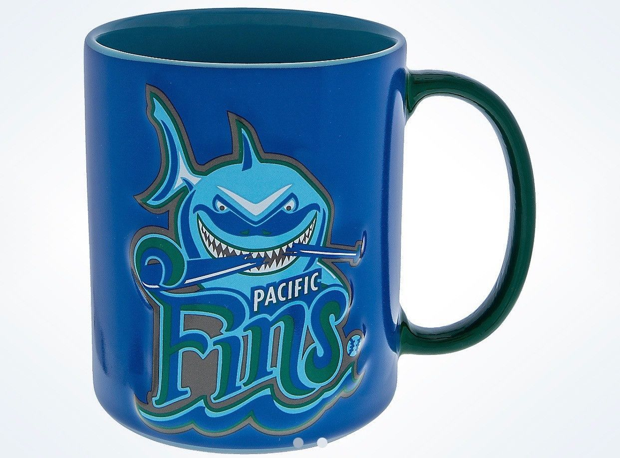 Finding Disney Bruce Baseball Parks Pacific Coffee Ceramic Fins Nemo by7vYg6f