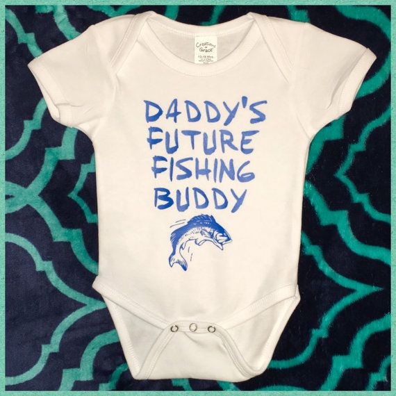 Daddy/'s Future Fishing Buddy Baby Girl Onesies Infant to 18 Months Country Girl