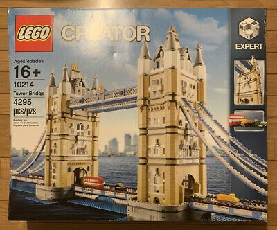 LEGO CREATOR TOWER BRIDGE 10214 New Sealed In Box Retired Discontinued