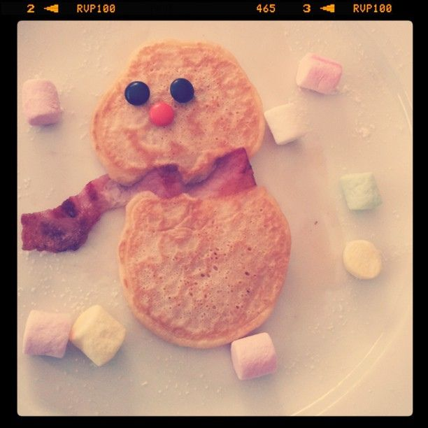 snowbaby pancakes