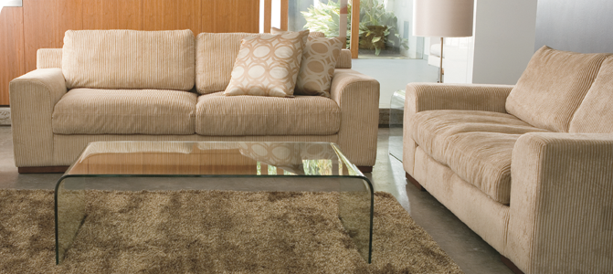 Magnum 3 Seater Featuring Mondo Fabric In Almond House