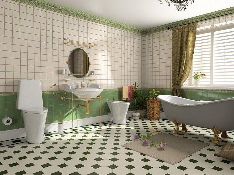 Arredamento bagno stile vintage dimensioni grandi interior design