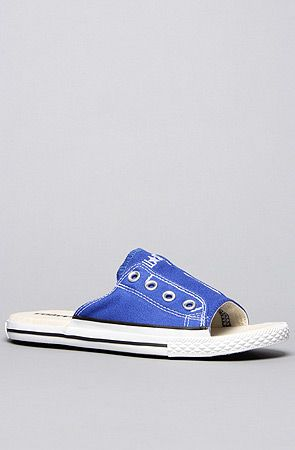 efc8ca41cfd9ae Converse The Chuck Taylor All Star Cut Away Sandal in Blue   Karmaloop.com  - Global Concrete Culture
