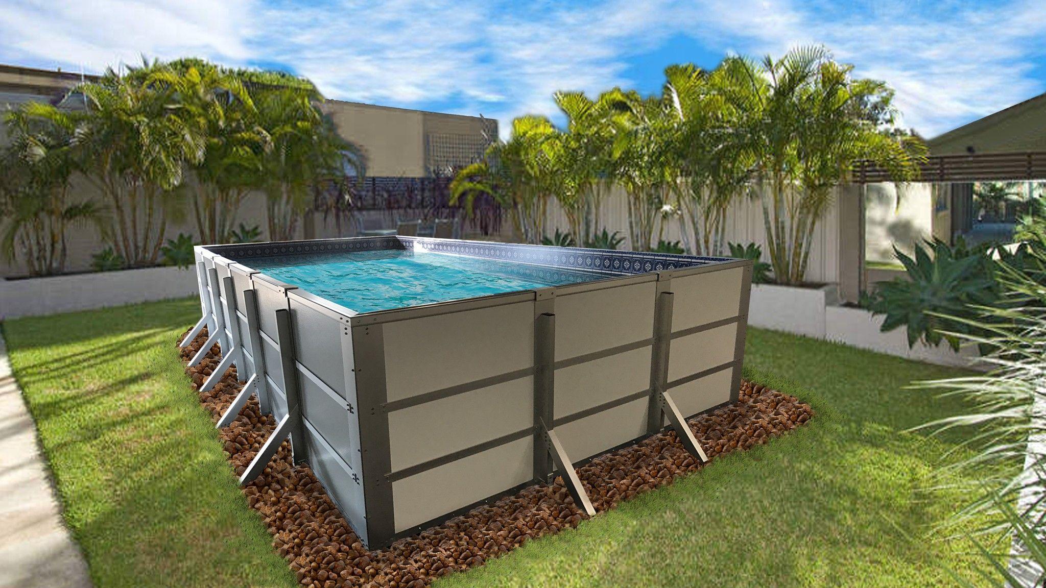 Rectangular Above Ground Swimming Pools Vs Classic Pools Rectangular Above Ground Swimming Pools Id Swimming Pools Rectangular Pool Swimming Pools Inground