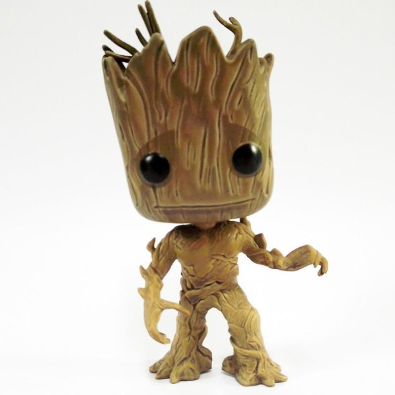 Tree Man Guardians Of The Galaxy Anime Movie Collection Action Figure Toys In 2021 Groot Toy Anime Galaxy Bobblehead Doll