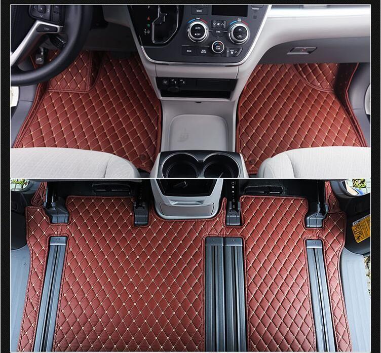 3d Luxury Slush Trunk Floor Mats Foot Pad Mat For Toyota Sienna