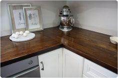 weekend inspiration kitchen countertops, concrete countertops, countertops, kitchen design, Kitchen countertop butcher block