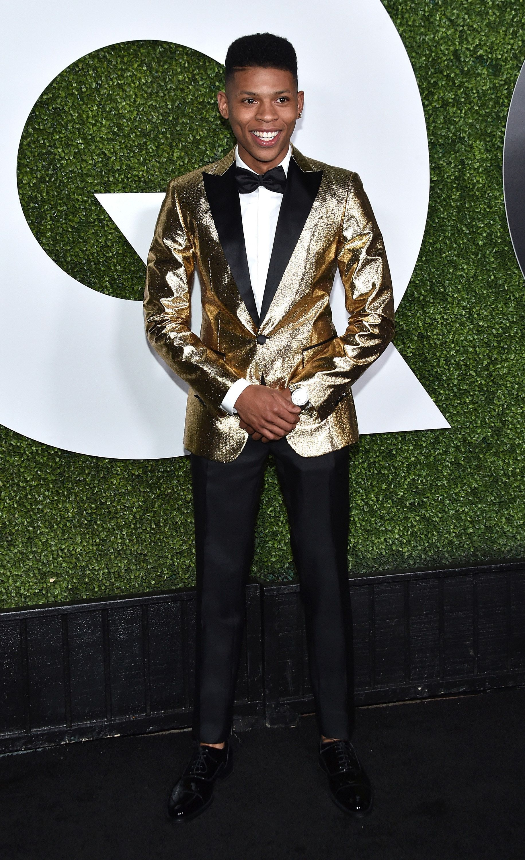 Bryshere Gray Dsquared2 tuxedo - GQ's Men of the Year Party