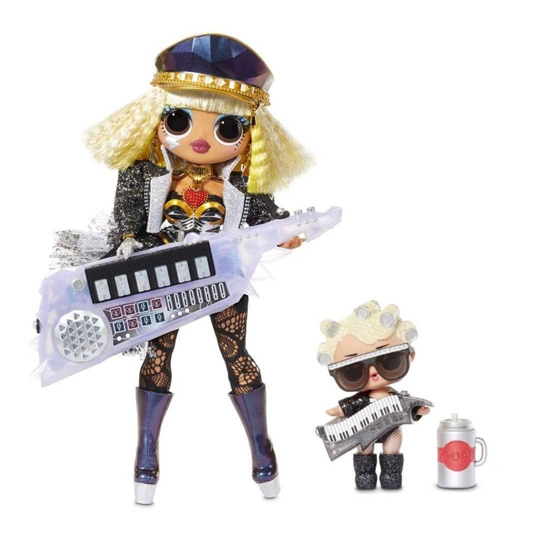 LOL Surprise Doll GLITTER GOO GOO QUEEN BABY Dolls Big SIS Sister Remix KEYTAR