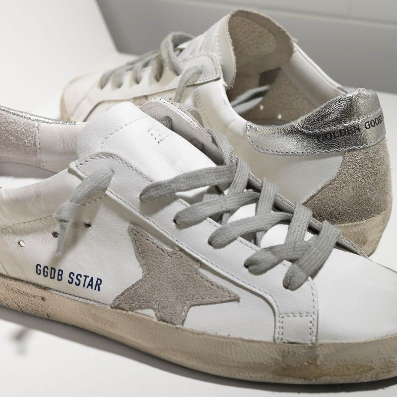 879351398207 Golden Goose Super Star Sneakers In Leather With Suede Star Women - Golden  Goose / GGDB #ggdb #superstar #sneakers #leather #fashion #outlet