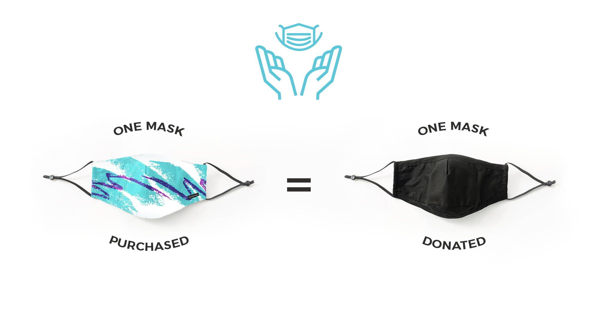 Purchasing Sock fancy mask is a way to support the community