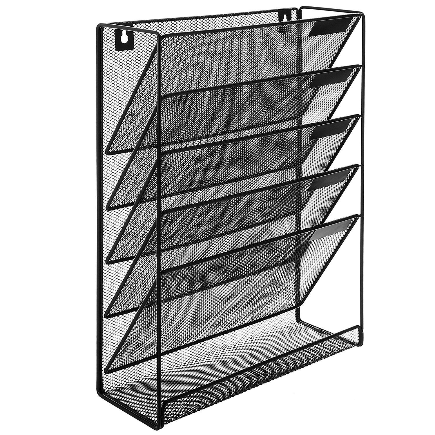 premium dp com mount one large wall office source products magazine amazon mag brochure rack holder