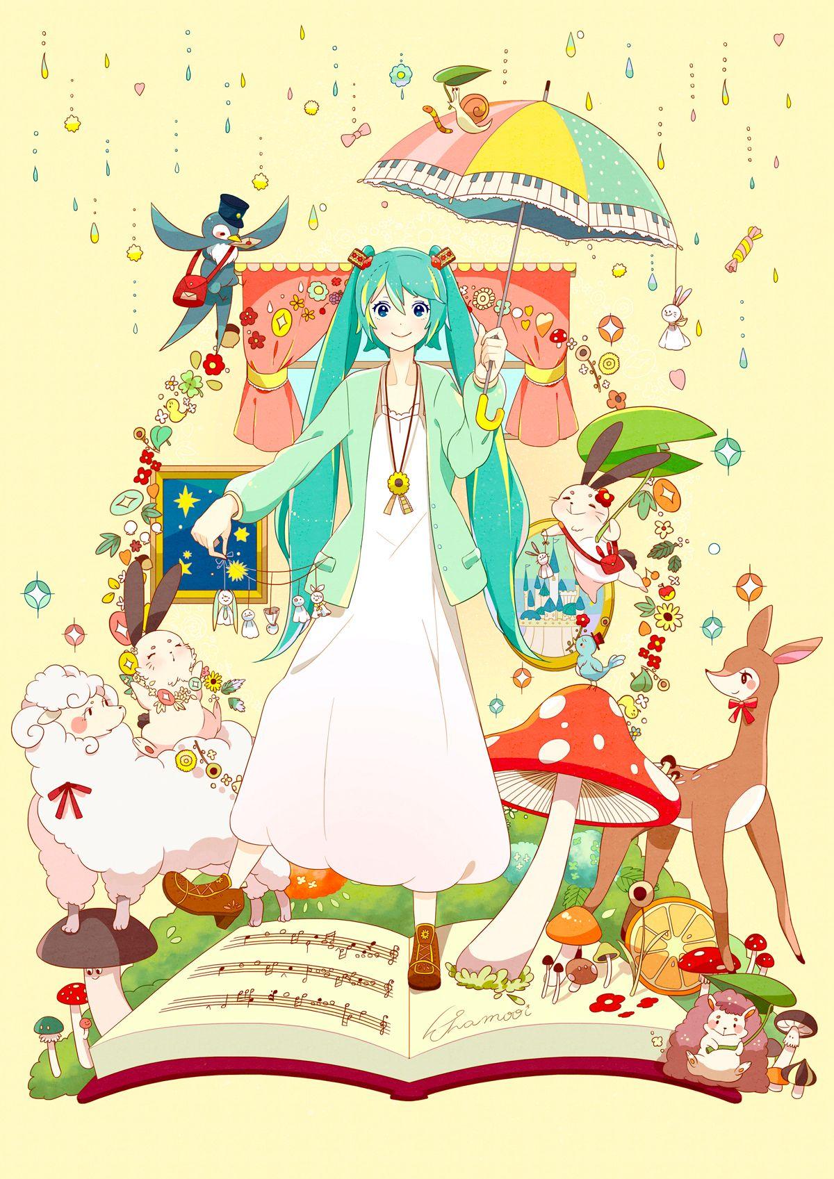 Spring's Fairy tale Hatsune Miku 初音ミク Hatsune miku