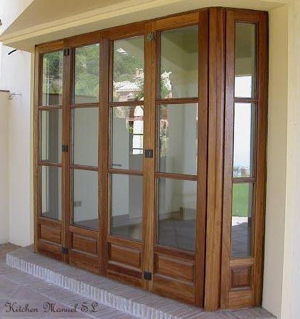 Ventanas Y Puertas Fabricamos En Madera Muebles Electrodomésticos Nacimiento Diseño Ventanas Ventanales De Madera Ventanas De Madera Rusticas