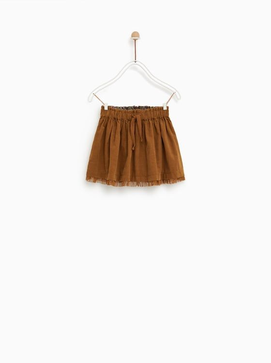 a0e56ce4602 FALDA PANA | w18-19 skirts | Corduroy skirt, Corduroy και Toddler skirt