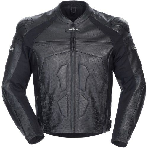 Special Offers - Cortech Adrenaline Mens Leather On-Road Racing Motorcycle Jacket  Black / Large - In stock & Free Shipping. You can save more money! Check It (November 24 2016 at 08:06AM) >> http://motorcyclejacketusa.net/cortech-adrenaline-mens-leather-on-road-racing-motorcycle-jacket-black-large/