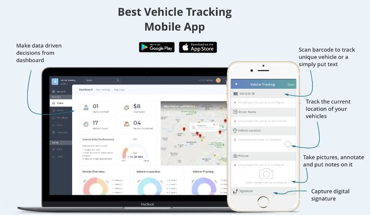 Best Vehicle Tracking Mobile App Mobile App App Vehicle Tracking