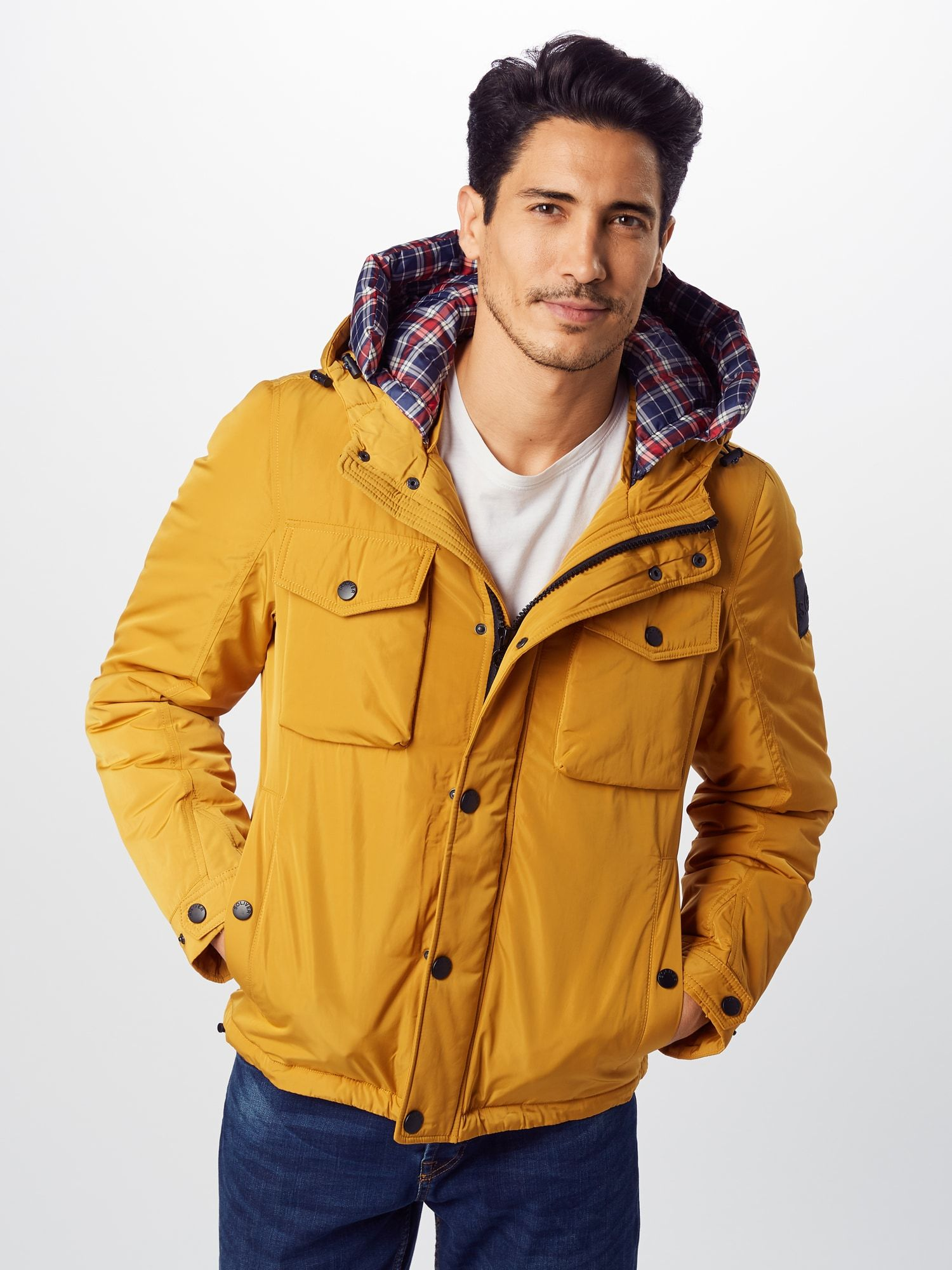 S Oliver Outdoor Jacke Herren Gelb Grosse L Outdoor Jacken Herren Jacken Outdoor Jacken