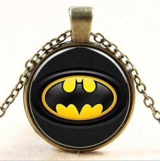 The Avengers Hero Photo Cabochon Glass Tibet Silver Chain Pendant Necklace