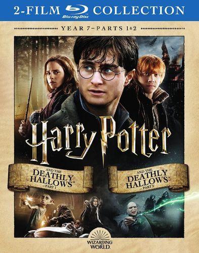 Harry Potter Year 7 Blu Ray Best Buy Harry Potter Years Deathly Hallows Part 1 Deathly Hallows