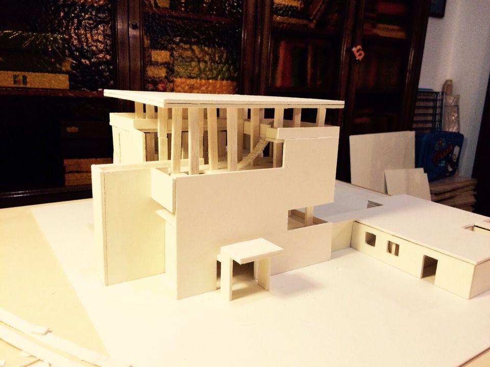 Villa Shodhan | models | Architecture art, Le corbusier