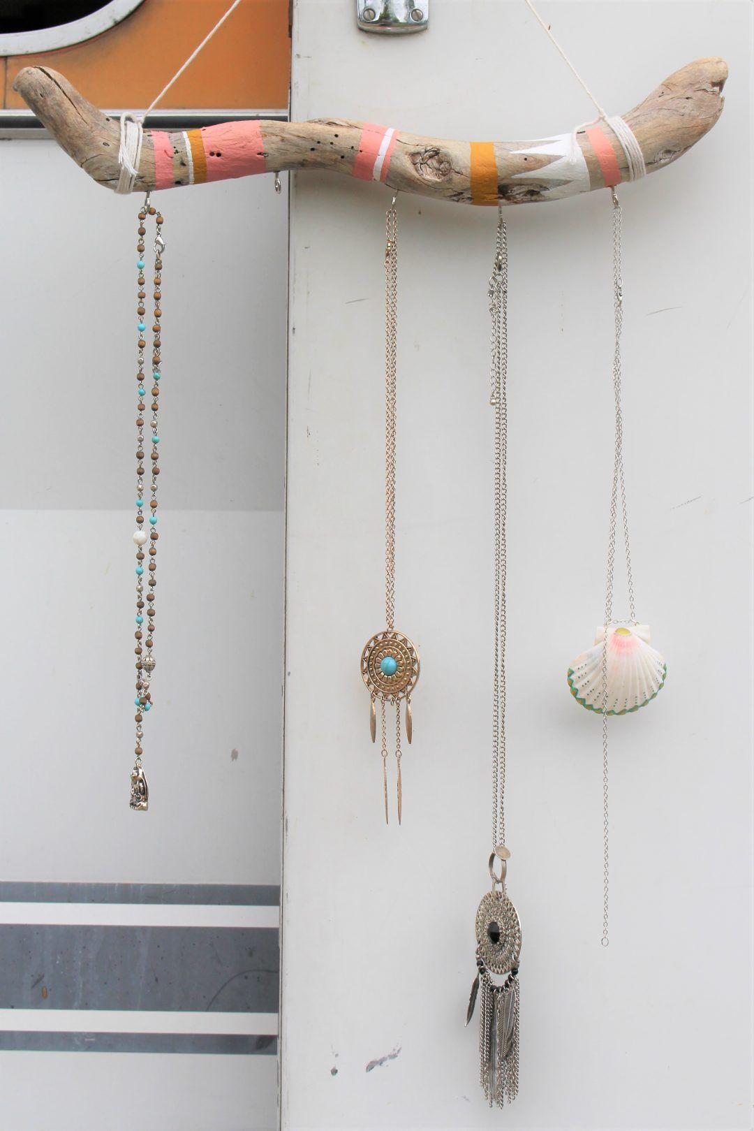 Bois Flotté Porte Photo diy : porte-bijoux en bois flotté | bijoux en bois flotté