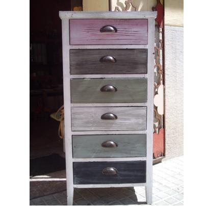 Popurri regalos decoraci n complementos muebles vintage - Pintar muebles estilo vintage ...