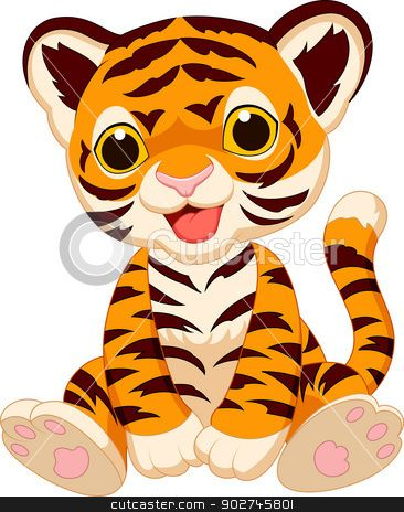 cute cartoon cheetah cute tiger cartoon stock vector clipart rh pinterest com Cartoon Cheetah Head Cute Cartoon Cheetahs