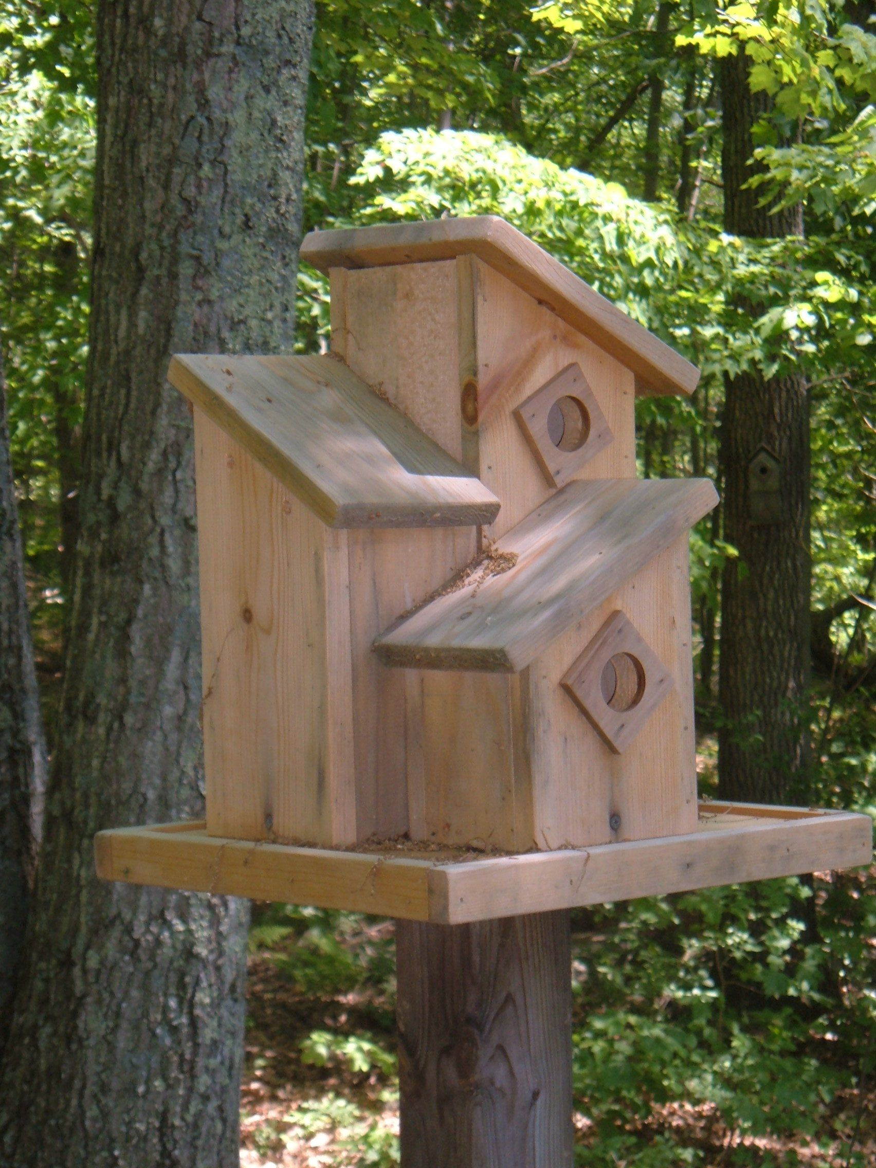 Making Wooden Birdhouses Birdhouse Ideas Plans and