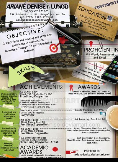 40 Mind Blowing and Creative Resume Designs for Inspiration - tv promotion director resume