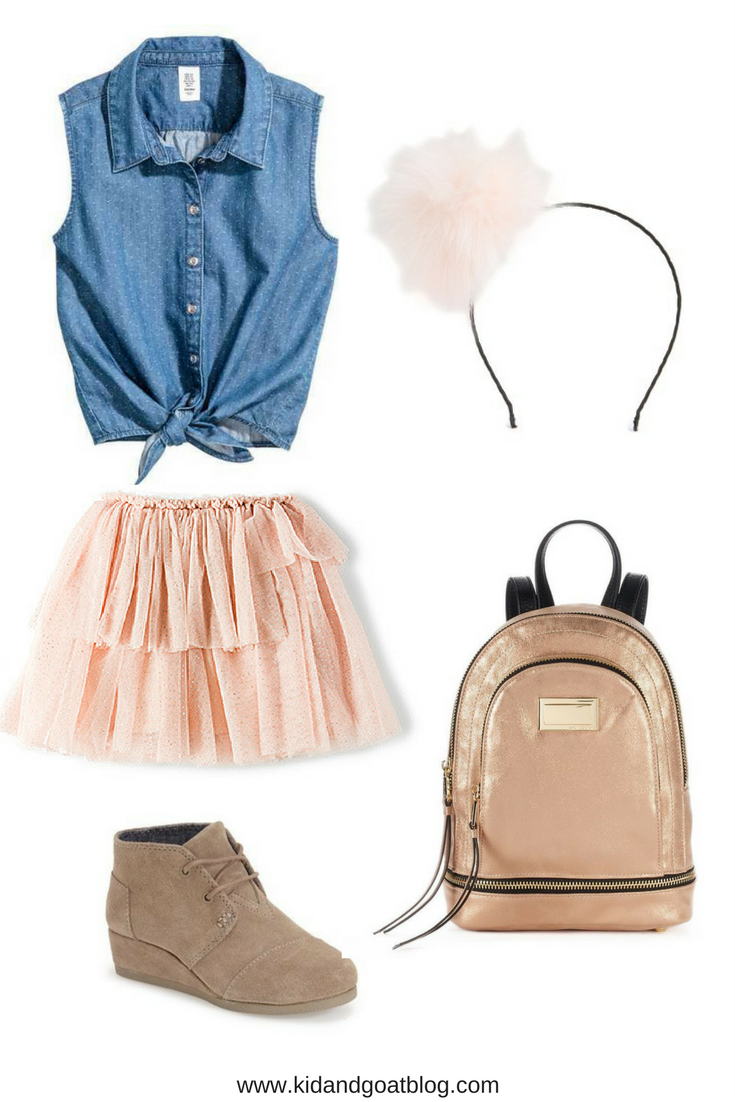 Back to School Outfit Idea - Feminine Back to School Outfit for