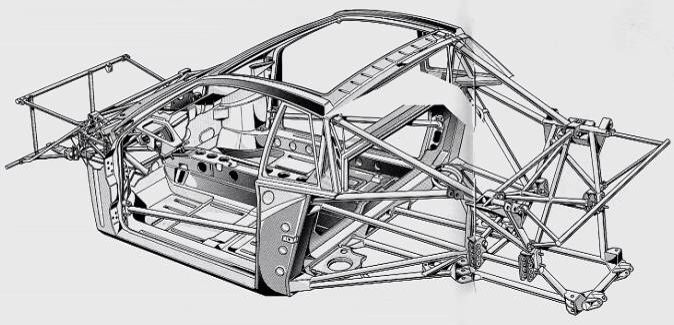 Space frame diagram | cars | Pinterest | Cars, Racing and Race cars